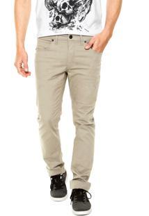 Calça Sarja Oakley Essential 5 Pockets Pant Cinza