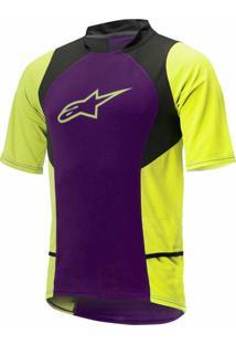 Camisa Alpinestars Drop 2 Roxo