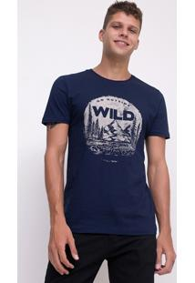 Camiseta Go Outside Wild