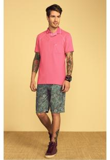 Camisa Polo Masculina Adulto