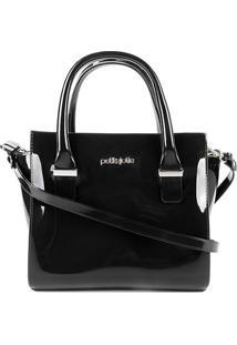 Bolsa Petite Jolie Handbag Love Feminina - Feminino-Preto