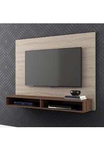 Painel Para Tv Charme 1005050 Carvalho Viena/Malte - Belaflex Móveis