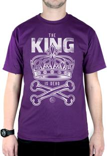 Camiseta Bleed American King Is Dead Roxo