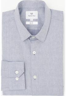 Camisa Maquinetada Texturizada
