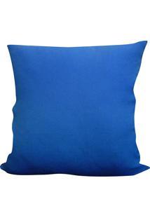 Capa Para Almofada Oxford 45X45 - Perfil Matelados - Azul Anil