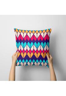 Capa De Almofada Avulsa Decorativa Beautiful Color 35X35Cm