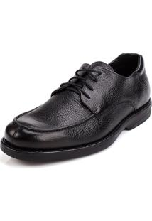 Social Side Walk Sapato Social Floater Confort Preto