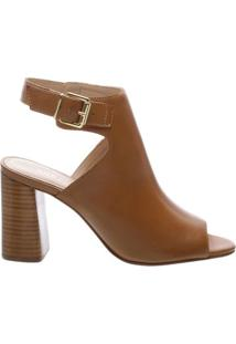 Sandal Boot Couro Chic Savannah Scotch | Arezzo