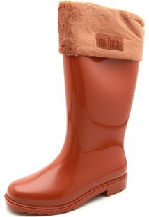Bota Melissa Winter Boot Caramelo