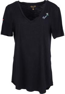 T-Shirt It'S & Co Fanny Preto