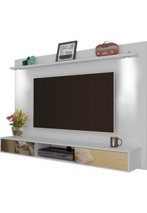 Painel Para Tvs Até 74 Pol Platinum Com Led Branco Artely