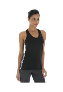 5b82348dff ... Camiseta Regata Adidas D2M 3S - Feminina - Preto