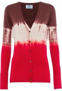Prada Cardigan Tie-Dye - Rosa