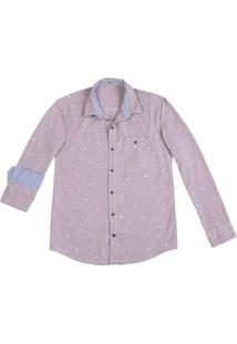 Camisa Masculina Hering Em Tecido 100% Algodão E Modelagem Slim