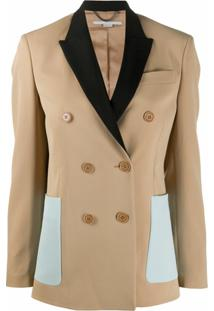 Stella Mccartney Blazer Com Botões Frontal - Neutro