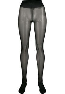 Wolford Meia-Calça Individual 20 - Preto