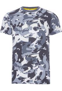 Camiseta Masculina Sleeve - Cinza