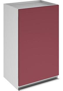 Armário 40Cm Clarice Itatiaia Ip1-40 Vermelho Rubi