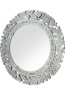 Espelho Marco- Espelhado- Ø90Cmrivatti