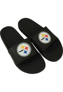 Chinelo Pittsburgh Steelers Nfl - Masculino