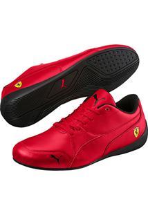Tênis Puma Scuderia Ferrari Drift Cat 7 Masculino - Masculino-Vermelho+Cinza