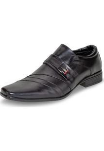 Sapato Masculino Social Preto Bkarellus - 7001