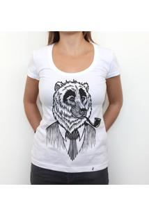 Urso - Camiseta Clássica Feminina