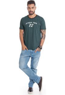 Camisa Manga Curta Bgo Bgm32784-35202 Verde
