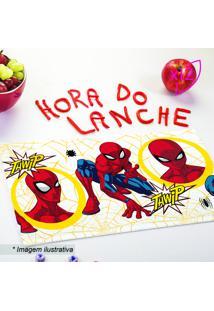 Jogo De Toalhas De Lancheira Infantil Spider Man®- Vermelepper