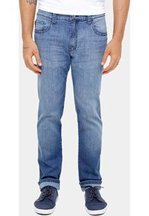 Calça Jeans Slim Fit Ellus Stone Elastano Masculina - Masculino