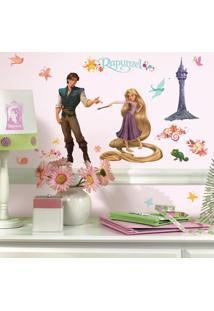 Adesivo De Parede Rapunzel