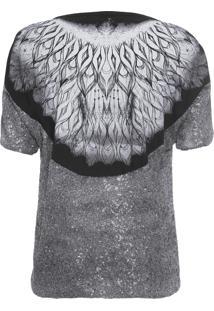 Camiseta Feminina Luciana - Prata