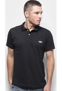 Camisa Polo Fatal Tag Masculina - Masculino-Preto