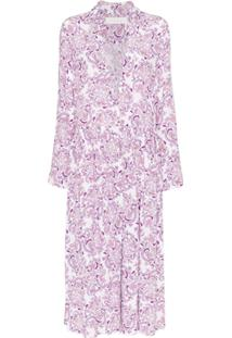 See By Chloé Chemise Com Estampa Floral - Roxo