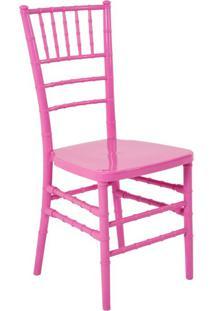 Cadeira De Jantar Tiffany Rosa
