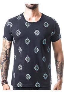 Camiseta T-Shirt Liferock - Masculino-Preto