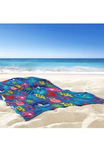 Toalha De Praia / Banho Fundo Do Mar