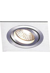 Spot Embutir Quadrado Alumínio 5X17Cm E27 Bella Iluminação Bivolt