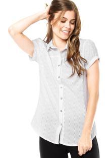 Camisa Mooncity Metal Branca