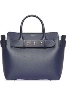 Burberry Bolsa The Small Com Cinto - Azul