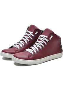 Bota Navit Shoes Casual Masculina Vermelho