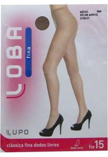 Meia Calça Lupo Loba Dedos Livres - Feminino-Nude