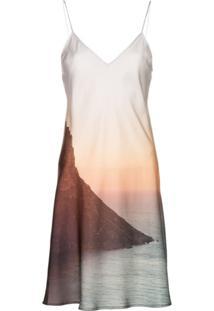 Esteban Cortazar Vestido Estampado 'Sunset' - Multicoloured