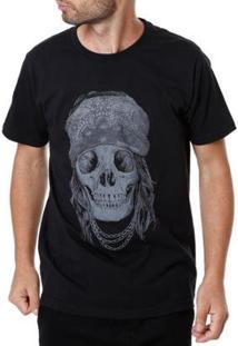 Camiseta Manobra Radical Masculina - Masculino-Preto
