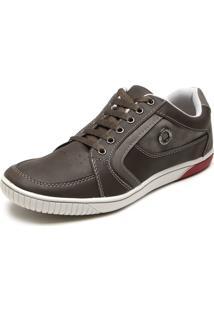 Sapatênis Ped Shoes Ilhós Preto