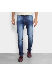 Calça Jeans Skinny Colcci Felipe Cintura Média Masculina - Masculino