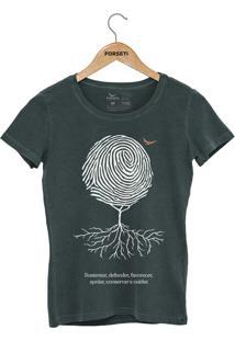 Camiseta Forseti Estonada Digital Verde - Kanui