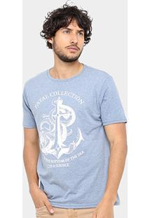 Camiseta Fatal Navy Masculina - Masculino