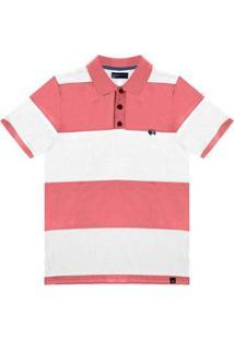 Camisa Rovitex Polo - Masculino-Laranja