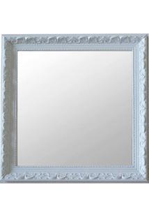 Espelho Moldura Rococó Raso 16140 Branco Art Shop